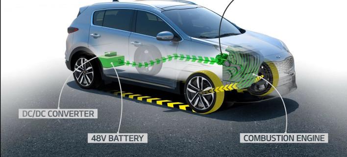 H ΚΙΑ θα παρουσιάσει υβριδικό Sportage με κινητήρα πετρελαίου