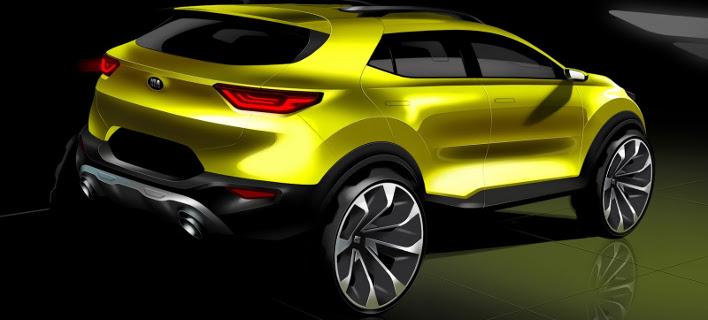 Αυτά είναι τα πρώτα επίσημα σκίτσα του νέου μικρού SUV της Kia, του Stonic [εικόνες]