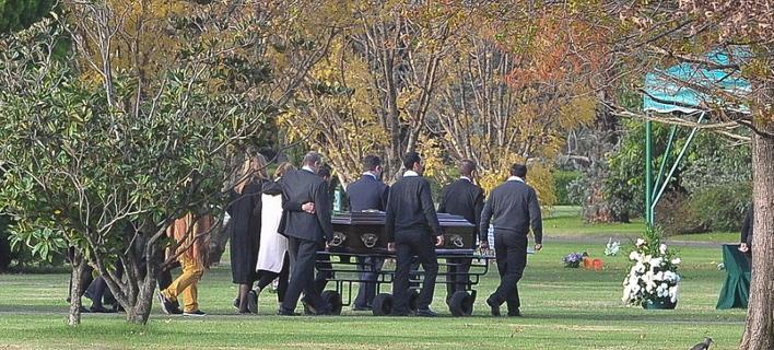 Κηδεία Ινές Σορεγκέτα /Φωτογραφία: ΕΡΑ via ΑΠΕ-ΜΠΕ
