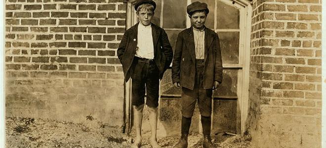 Απίστευτες φωτογραφίες: Τα παιδιά εργάτες που «έχτισαν» την Αμερική [εικόνες]