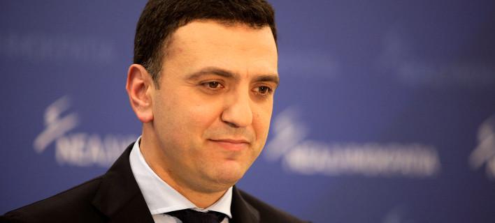 Ο εκπρόσωπος τύπου της ΝΔ, Βασίλης Κικίλιας/ Φωτογραφία: ΚΟΝΤΑΡΙΝΗΣ ΓΙΩΡΓΟΣ/ Eurokinissi