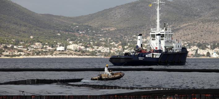 Το «Αγία Ζώνη ΙΙ» βυθίστηκε στις 10 Σεπτεμβρίου μεταφέροντας πάνω από 2.500 τόνους επεξεργασμένο πετρέλαιο (EUROKINISSI)
