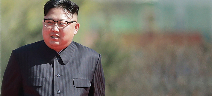 Ο πρόεδρος της Βόρειας Κορέας, Κιμ Γιονγκ Ουν. Πηγή φωτό: AP/Wong Maye-E