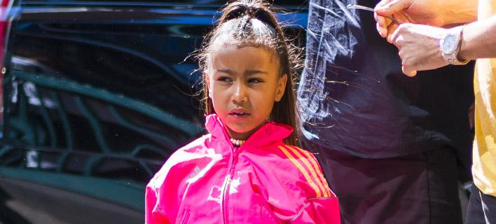 Η 5χρονη κόρη της Κιμ Καρντάσιαν, Νορθ. Φωτογραφία: Splash News