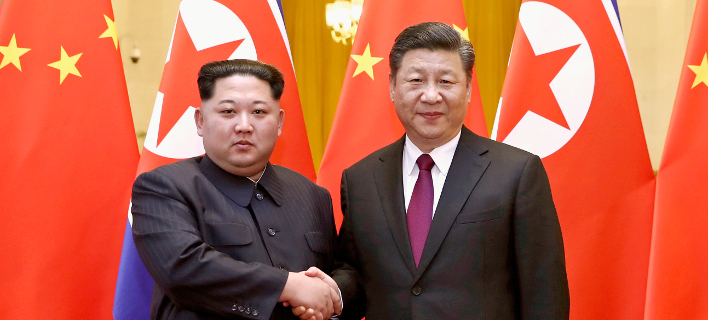 Ο Πρόεδρος της Κίνας Σι Τζινπίνγκ και ο ηγέτης της Βόρειας Κορέας 411956581fb