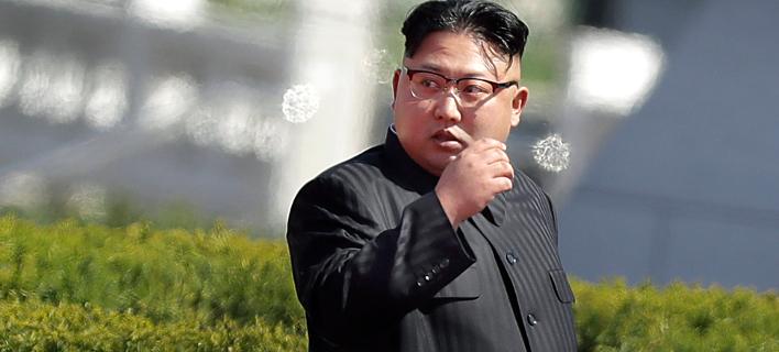 Νέες απειλές εκτοξεύει η Πιονγιάνγκ / Φωτογραφία: AP Photo/Wong Maye-E
