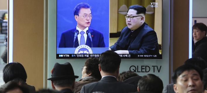 Την Παρασκευή η συνάντηση των ηγετών Βόρειας και Νότιας Κορέας (Φωτογραφία: AP/ Ahn Young-joon)