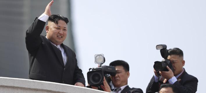 Η Πιονγιάνγκ υποστηρίζει ότι η CIA προσπάθησε να δολοφονήσει τον Κιμ (Φωτογραφία: AP/ Wong Maye-E)