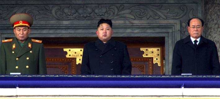 Κιμ Γιονγκ Ουν/ Φωτογραφία: AP