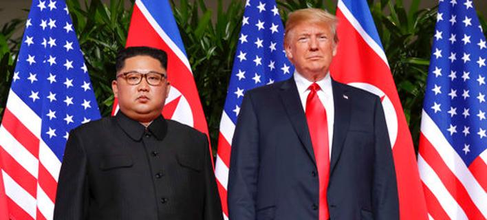 Βόρεια Κορέα: Οι κυρώσεις των ΗΠΑ θέτουν σε κίνδυνο τη συμφωνία αποπυρηνικοποίησης /Φωτογραφία: AΡ