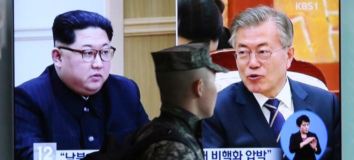 Φωτογραφία: Oι δύο ηγέτες/AP