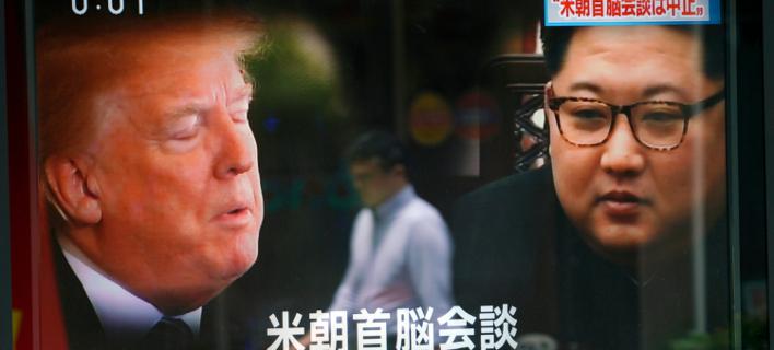 Τραμπ-Κιμ Γιονγκ Ουν/Φωτογραφία: AP