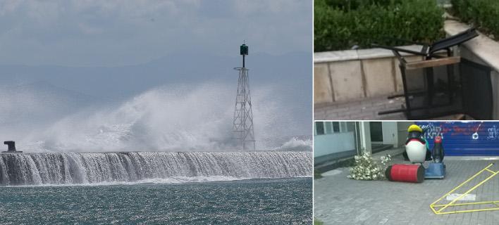 Με άγριες διαθέσεις έρχεται ο Ξενοφών: Τα πρώτα προβλήματα σε Θεσσαλονίκη-Χαλκίδα [εικόνες & βίντεο]