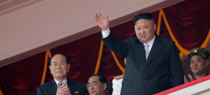 Ο Βορειοκορεάτης ηγέτης Κιμ Γιονγκ Ουν, Φωτογραφία: AP