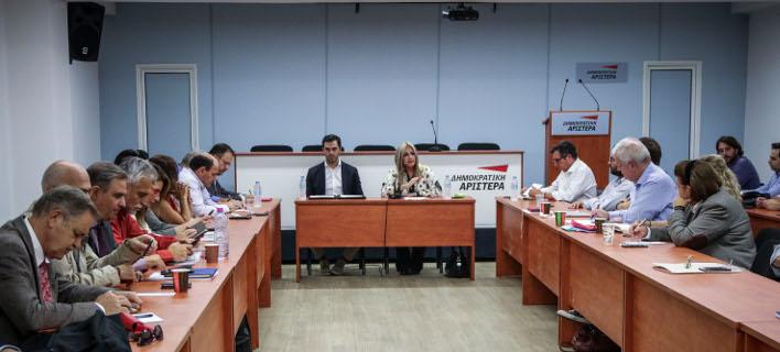 Ενταση στη συνεδρίαση της Εκτελεστικής Γραμματείας του ΚΙΝΑΛ -Φωτογραφία: EUROKINISSI/ΓΙΑΝΝΗΣ ΠΑΝΑΓΟΠΟΥΛΟΣ