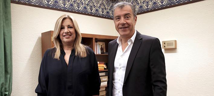 «Φοβάμαι ότι είναι η τελευταία μας συνάντηση» -Προς διαζύγιο Φώφη-Θεοδωράκης