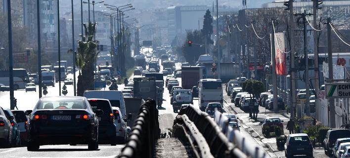 Κλείνουν για ένα χρόνο οι δύο από τις τέσσερις λωρίδες της Λ. Αθηνών στο Χαϊδάρι