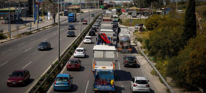Εθνική οδός Αθηνών-Κορίνθου (Φωτογραφία: EUROKINISSI/ΣΤΕΛΙΟΣΜΙΣΙΝΑΣ)