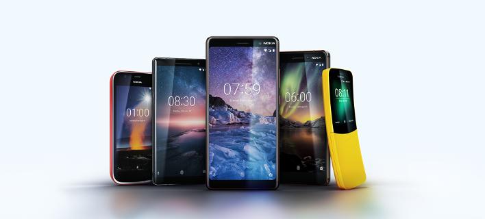 Παρουσίαση πέντε νέων Nokia τηλεφώνων [εικόνες]