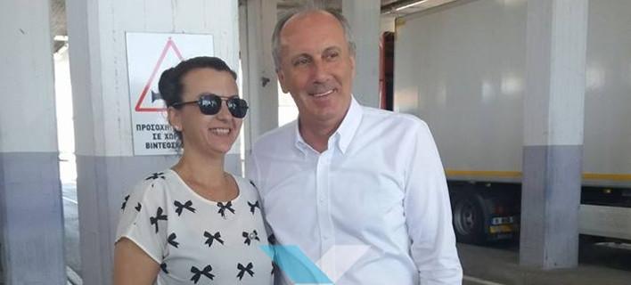 Στην Κομοτηνή ο Τούρκος υποψήφιος πρόεδρος της αξιωματικής αντιπολίτευσης (CHP) Μουχαρέμ Ιντζέ