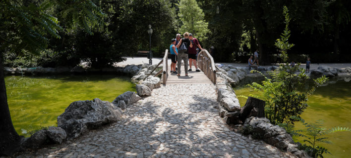 Το σχέδιο του δήμου Αθηναίων για την αναβάθμιση και ανάδειξη του Εθνικού Κήπου /Φωτογραφία: Εurokinissi