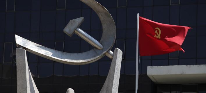 Συγκέντρωση διαμαρτυρίας για την επίθεση στη Συρία διοργανώνει το ΚΚΕ/Φωτογραφία: Eurokinissi