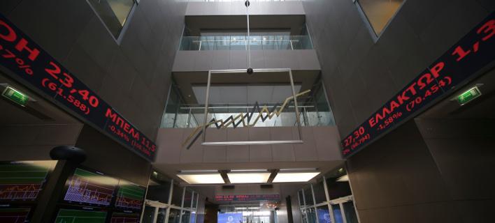 Χρηματιστήριο/Φωτογραφία: eurokinissi