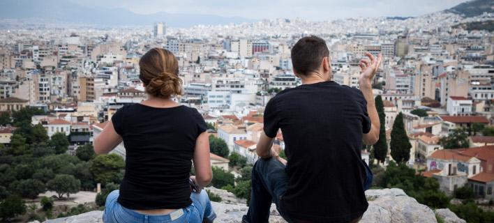 Πανοραμική άποψη της πρωτεύουσας-Φωτογραφία: Eurokinissi/Βασίλης Ρεμπάπης