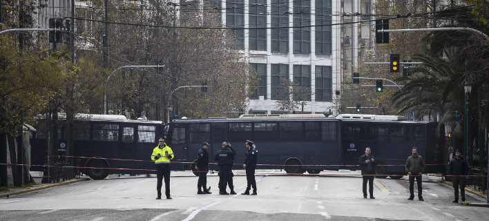 Η ΕΛ.ΑΣ. εξηγεί πως μετράει τους διαδηλωτές / Φωτογραφία: EUROKINISSI/ΤΑΤΙΑΝΑ ΜΠΟΛΑΡΗ