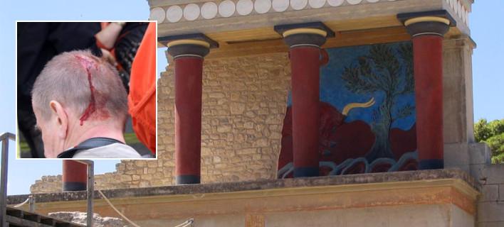 Κεραυνός «χτύπησε» τουρίστες στην Κνωσό -Δεκάδες τραυματίες, μία γυναίκα υπέστη ανακοπή [εικόνες]
