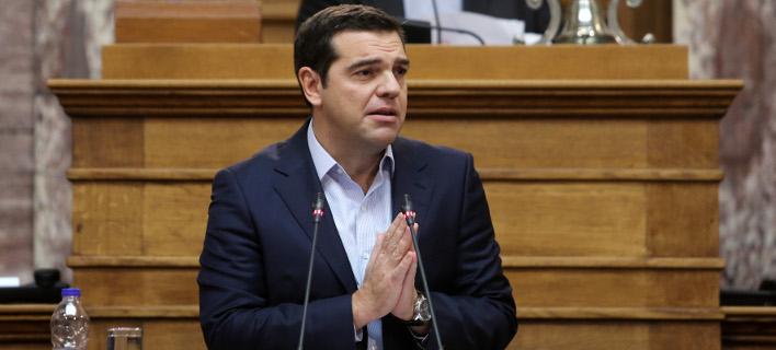 Τσίπρας στην ΚΟ του ΣΥΡΙΖΑ: Να βγούμε από τα γραφεία μας, να μπούμε σε διάταξη μάχης