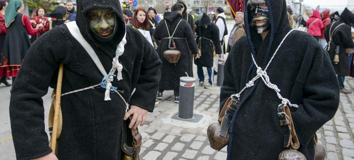 Κωδωνοφόροι στη Θεσσαλονίκη (Φωτο: MOTIONTEAM/ΓΙΩΡΓΟΣ ΚΩΝΣΤΑΝΤΙΝΙΔΗΣ)
