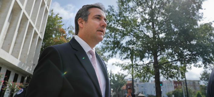 Ο προσωπικός δικηγόρος του Τραμπ, Μάικλ Κοέν (Φωτογραφία: AP Photo/Pablo Martinez Monsivais)