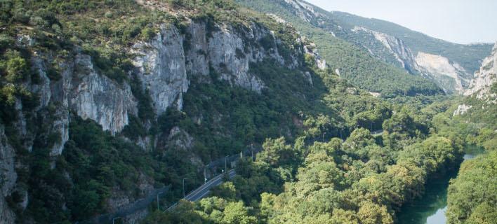 Κοιλάδα των Τεμπών (Φωτογραφία: ΑΝΤΩΝΗΣ ΝΙΚΟΛΟΠΟΥΛΟΣ/EUROKINISSI)