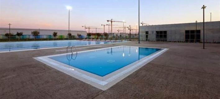 Το κολυμβητήριο Καλλιθέας/ φωτογραφία: kallithea press