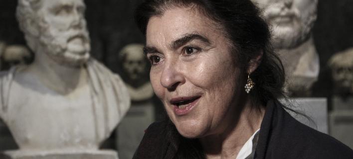 Η Λυδία Κονιόρδου (Φωτογραφία: EUROKINISSI/ΔΗΜΗΤΡΟΠΟΥΛΟΣ ΣΩΤΗΡΗΣ)