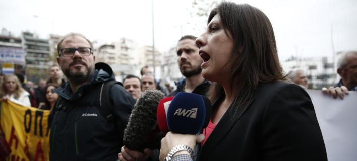 Η Ζωή Κωνσταντοπούλου (Φωτογραφία: EUROKINISSI/ΣΤΕΛΙΟΣ ΜΙΣΙΝΑΣ)