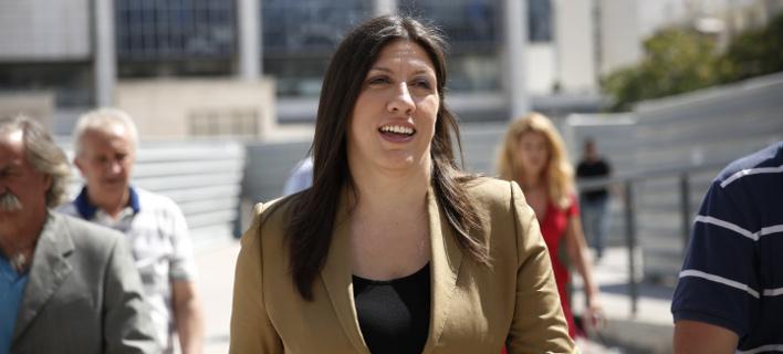 Η κ. Κωνσταντοπούλου παρουσίασε την κυβερνητική της πρόταση