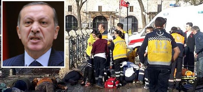 Ερντογάν: 28χρονος Σύρος ο βομβιστής αυτοκτονίας που αιματοκύλησε την Κωνσταντινούπολη