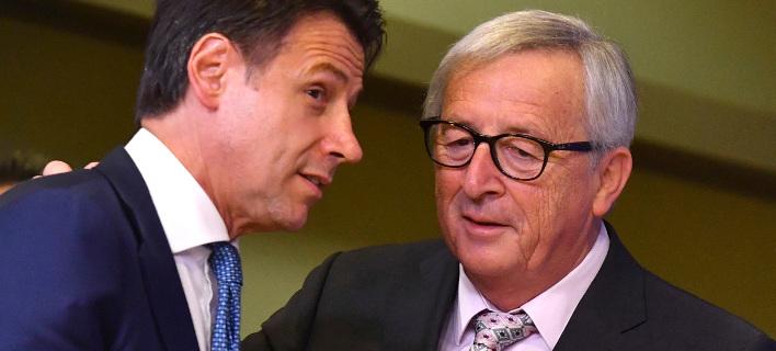 Κόντε: Η Ιταλία δεν κινδυνεύει να βιώσει την κρίση της Ελλάδας