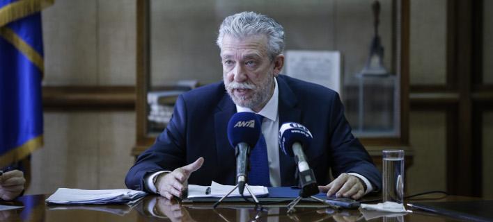 Ο Σταύρος Κοντονής (Φωτογραφία: EUROKINISSI/ΣΤΕΛΙΟΣ ΜΙΣΙΝΑΣ)