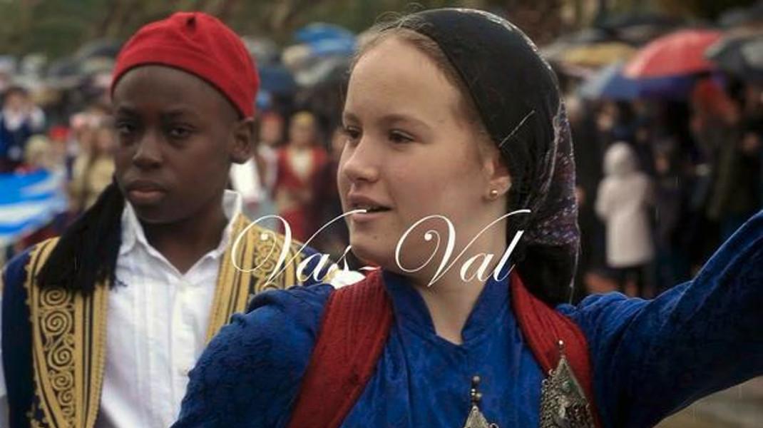 Η φωτογραφία της ημέρας είναι από την παρέλαση της Κορίνθου.