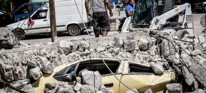 Σεισμός στην Κω/Φωτογραφία: Eurokinissi