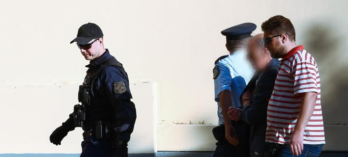 στα δικαστήρια ο 73χρονος/Φωτογραφία: IntimeNews/ΒΑΡΑΚΛΑΣ ΜΙΧΑΛΗΣ