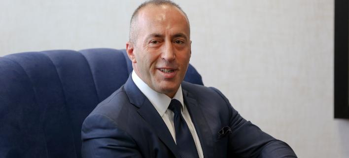 Ο πρωθυπουργός του Κοσόβου, Ράμους Χαραντινάι (Φωτογραφία: AP Photo/Visar Kryeziu)