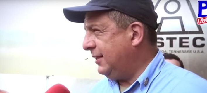 Ο πρόεδρος της Κόστα Ρίκα μιλούσε στις κάμερες και κατάπιε σφήκα [βίντεο]