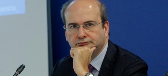 Ο αντιπρόεδρος της ΝΔ, Κωστής Χατζηδάκης. Φωτογραφία: Eurokinissi