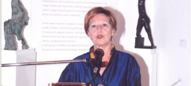 Πέθανε η ιστορικός της τέχνης μαρία