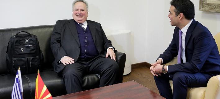 Ξεκίνησε η συνάντηση Κοτζιά-Ντιμιτρόφ στα Σκόπια -Τα αγκάθια για συμφωνία