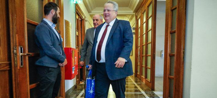 Νίκος Κοτζιάς (Φωτογραφία: EUROKINISSI/ΓΙΩΡΓΟΣ ΚΟΝΤΑΡΙΝΗΣ)